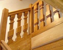 Les Ateliers du Bois Penneçot - Varanges - Escaliers - Fabrication de garde-corps en bois