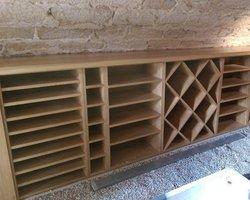 Les Ateliers du Bois Penneçot - Varanges - Aménagement professionnel - Meuble de cave